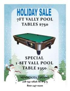 pool table sale